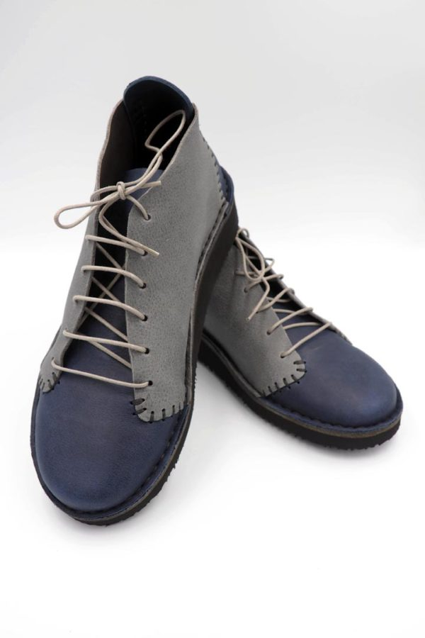 handmade leather lace up shoes