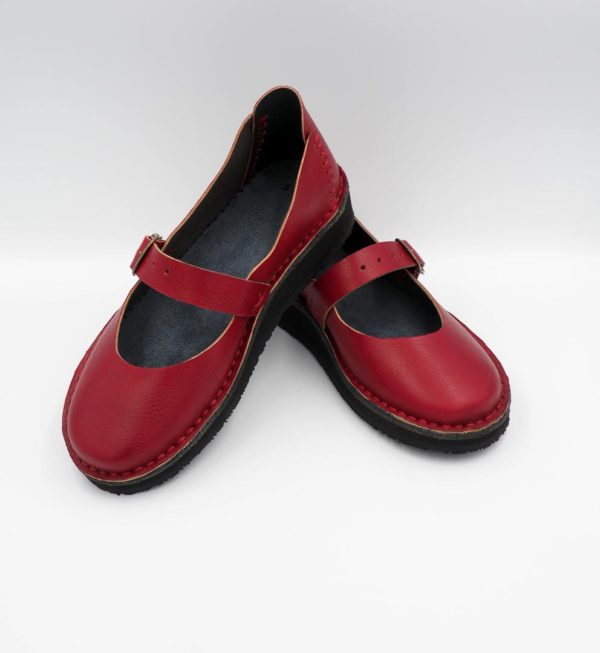 Ballerina school handmade leather shoes