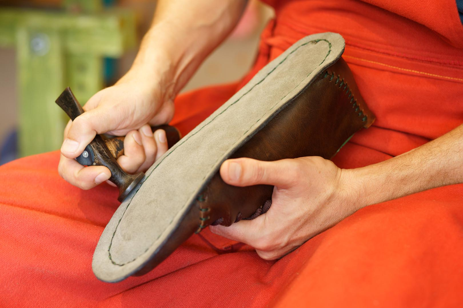 leather shoes handmade
