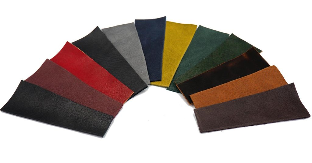 Leathers used in shoe making