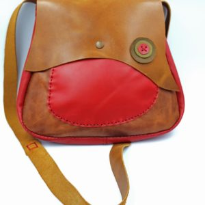 χειροποίητη δερμάτινη τσάντα