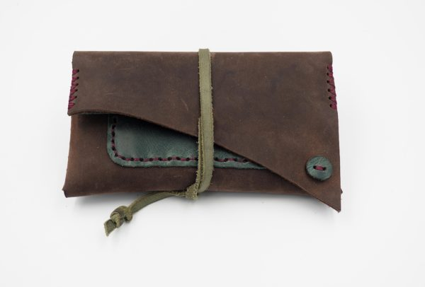 handmade tobacco pouch